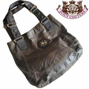 Juicy Couture large satchel tot bag